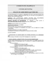 CONSEIL du 08-01-2014