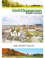 Vie@Champeaux n121 07-2019
