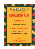 Formation BAFA du 24 au 31/10/2021